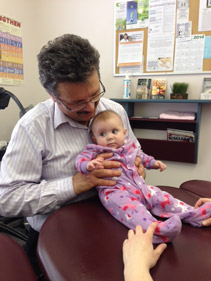Rio's first visit to Dr. Nischuk